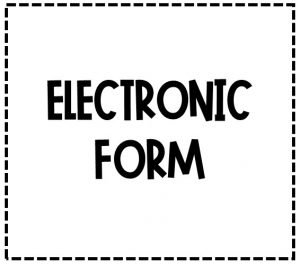 Text Reads Electronic Form